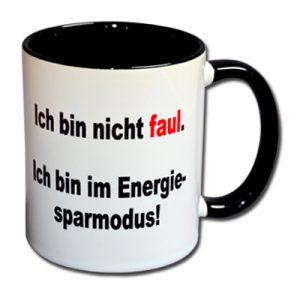 Ich bin nicht faul Ich bin im Energiesparmodus
