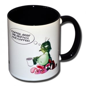 Kaffee gebt mir einfach nur Kaffee