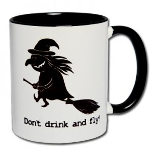 Don't drink and fly!