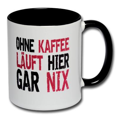Ohne Kaffee läuft hier gar nix