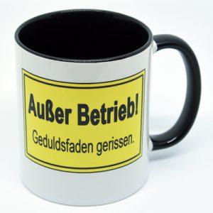 Kaffeetasse Außer Betrieb