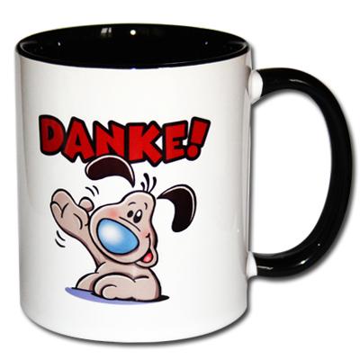 Danke Kaffeetasse