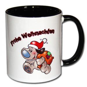 Frohe Weihnachten Kaffeetasse