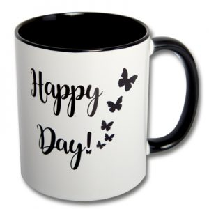 Kaffeetasse Happy Day