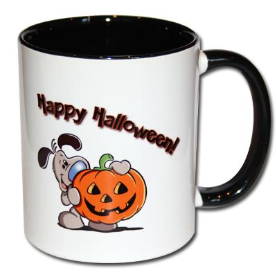 Kaffeetasse Happy Halloween