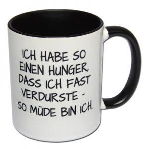 Ich habe so einen Hunger