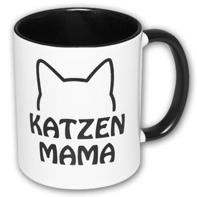 Katzenmama Katzen Tasse
