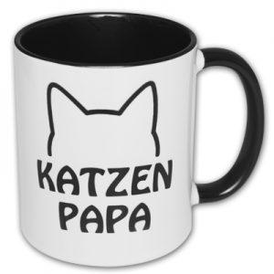 Spruchtasse Katzenpapa