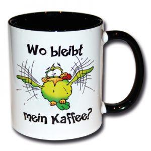 Wo bleibt mein Kaffee?
