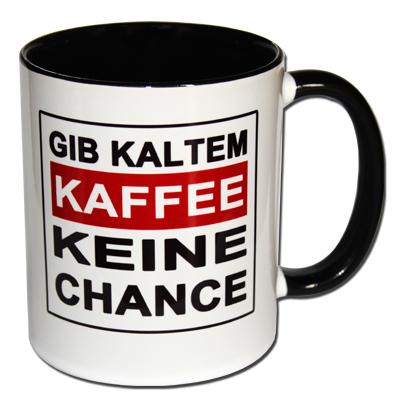 Gib kaltem Kaffee keine Chance