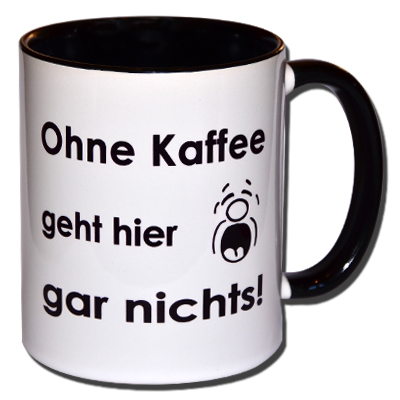 Ohne Kaffee geht hier gar nichts