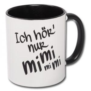 Tasse Ich hör' nur mimimimi