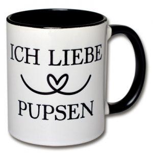 Tasse Ich liebe Pupsen