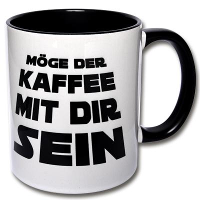 Spruchtasse Möge der Kaffee mit dir sein