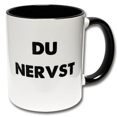 Kaffeetasse Du Nervst