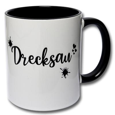 Tasse Drecksau Kaffeetasse