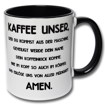 Tasse Kaffee unser