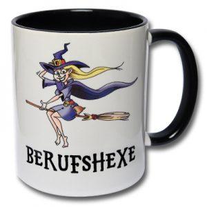 Tasse Berufshexe Kaffee