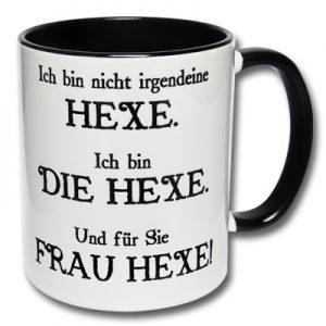Kaffeetasse Hexe
