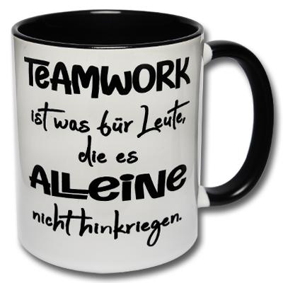 Kaffeetasse Teamwork Tasse