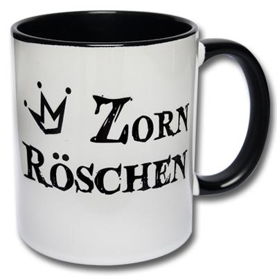 Kaffeetasse Zornröschen Tasse