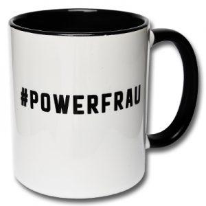 Tasse Powerfrau Geschenk