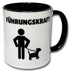 Führungskraft Tasse Hund