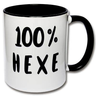Tasse 100 % Hexe
