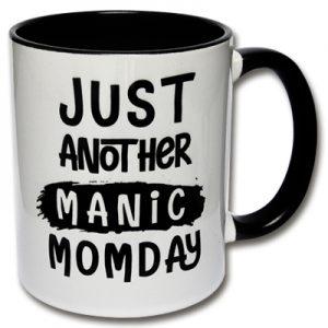 Manic Momday Tasse Mama