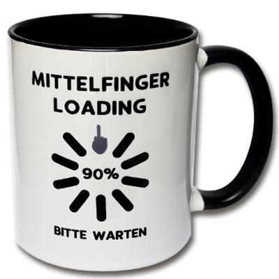 Tasse Mittelfinger Loading