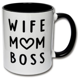 Wife Mom Boss Tasse Mama