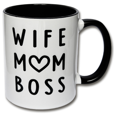 Wife Mom Boss Tasse Mama