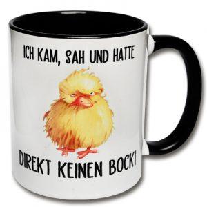 Morgenmuffel Tasse Kein Bock