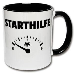 Tasse Starthilfe