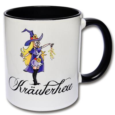 Tasse Kräuterhexe Hexentasse
