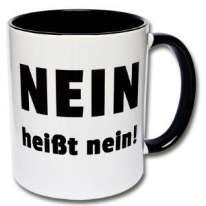 Nein heißt nein Tasse