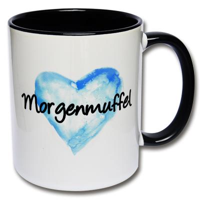 Morgenmuffel Tasse Herz