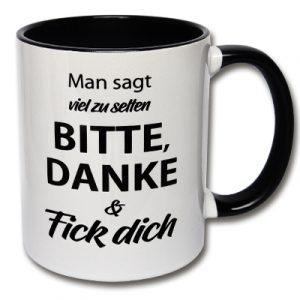 Tasse Fick dich Kaffeetasse