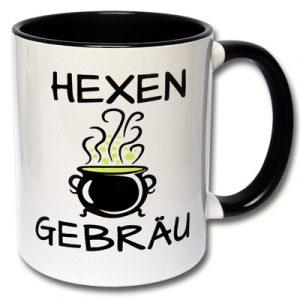 Kaffeetasse Hexengebräu Tasse